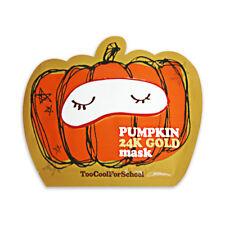[TOO COOL FOR SCHOOL] Pumpkin 24k Gold Mask - 2pcs