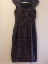 Zara Office Checked Dress - UK Size Small