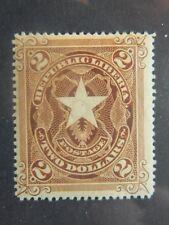 1749  LIBERIA SC# 48  MINT  OG HEVER HINGED      CAT  $9