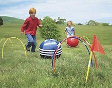 Kids Kick Croquet Set - Child Outdoor Kicking Games