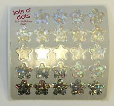 240 Foil Sparkle Stars Stickers Party Favors Teacher Supply Free Shipping
