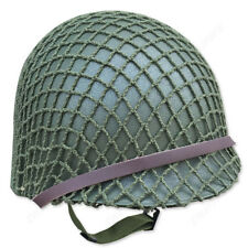 WW2 US ARMY Paratrooper M1 HELMET NET COTTON CAMOUFLAGE TACTICAL ONLY NET COVER