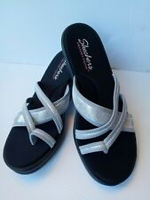 Skechers Rumblers Young At Heart  Sandal - Women's Size 9 - silver