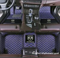 Fit Dodge Charger R/T Front & Rear Waterproof Auto Luxury Costom car floor mats