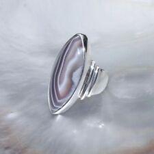 Markenlose Ringe mit Achat echten Edelsteinen für Damen
