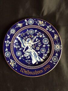 Wandteller Hutschenreuther Weihnachten 1996 Durchm. 21,5