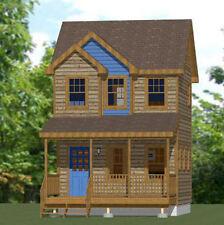 16x16 Tiny House -- 463 sq ft -- PDF Floor Plan -- Model 11A