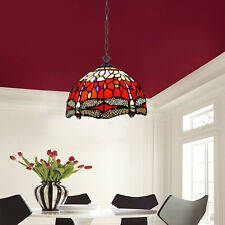 More details for antique tiffany lamp stained glass pendant light handcrafted home decoration uk
