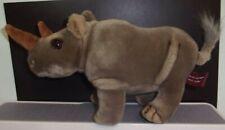 "Jungle Joe's Safari Friends Rusty The Rhino Plush 11"" Talking Animal Free Ship"