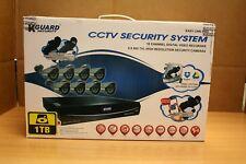 KGUARD Security EL1622-2CKT005-1TB Easy Link Pro Series 16 Channel QR Cloud 960H