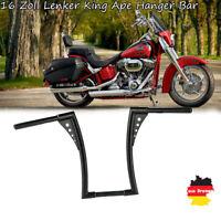"""1 1/4"""" 16 Zoll Lenker King Ape Hanger Bar für Harley Sportster XL FLST"""