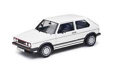original VW GOLF 1 GTI Pirelli 1983 MK1 1:18 Blanco Welly 191099302 084 -nuevo