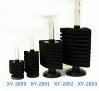 XY-2890 Corner Bio Sponge Filter Breeding Shrimp Nano Fish Tank Aquarium