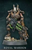 Warhammer 40k Necrons Royal Warden Indomitus w/Relic Gauss Blaster New!