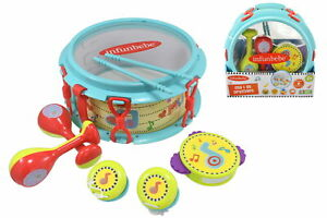 Kids My 1st Drum Set Interactive Learning Activity Toy Childrens Fun Play Game