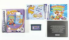 Nintendo Game Boy Advance 2 in 1 Columns Crown / Chu Rocket Dt. Pal Boxed