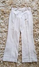 Ladies Size 10 BERKERTEX cream Smart Trouser In Excellent Condition