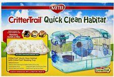 "Kaytee Crittertrail Quick Clean Habitat  HAMSTERS - MICE - GERBILS 16"" X 10.5"""