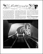 1937 Otis Escalators Stern Brothers New York City vintage photo print ad L30