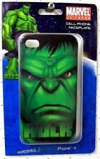 "Marvel Comics Universe ""HULK"" Hardshell CELL PHONE FACEPLATE for IPHONE 4 New!!"