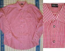 45-46 Herren-Trachtenhemden mit Klassischer Kragen