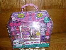 "Lalaloopsy Minis Style N Swap Confetti Carnavale Jewel Sparkles Doll 3"" Princess"