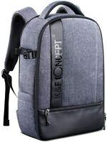 K&F Concept Large DSLR SLR Camera Photo Backpack Bag for Canon Nikon Waterproof
