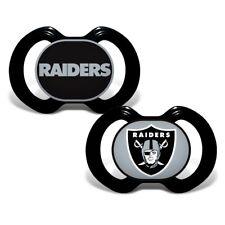 Baby Fanatic 2 Piece Pacifier Set Oakland Raiders