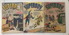 SUPERBOY #71 72 76 ==> WITH SUPER-MONKEY & SUPERBABY CLASSIC SILVER AGE 1959