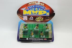 PITTSBURGH STEELERS 1997 GALOOB ALL-STAR MVPS ACTION FIGURES MIP