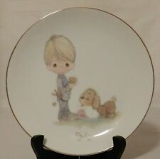 Vintage 1983 Precious Moments July Plate