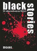 +++ Black Stories von Holger Bösch - 50 rabenschwarze Rätsel; moses +++