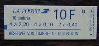 France 1986 10F Booklet Still Sealed MNH