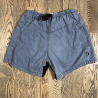 Zoic Vixen MTB Chamois Cycling Shorts Gray Blue Mens Medium USA Made