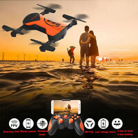 4CH Altitude Hold HD Camera WIFI FPV Selfie Foldable RC Quadcopter Pocket Drone