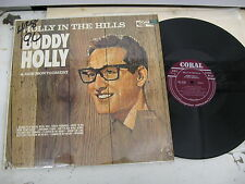 Buddy Holly/ Holly In The Hills/ Coral/ 1965/ Canada Press/ Maroon Label/ Shrink