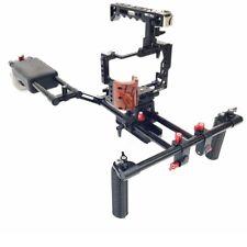 NEW SHOOTVILLA DSLR Sony a7RII a7SII a7II Video Camera Cage Shoulder Rig Kit