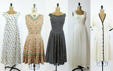 VINTAGE 1950s 1960s RESELLER LOT  | vintage lot of five dresses |  LOT #12