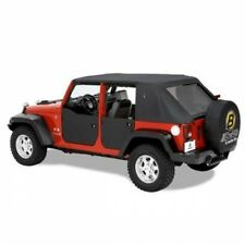 Jeep Wrangler JK Set front Half doors Door Black Diamond Bestop 07-17
