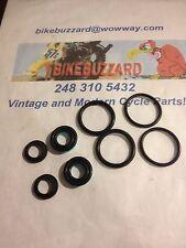 Vintage Motocross Fox Spring Shock Shocks Seal Kit for 1/2 inch shafts NEW!