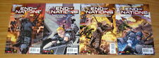 End of Nations #1-4 VF/NM complete series based on online strategy game 2 3 set