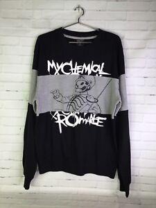 My Chemical Romance The Black Parade Logo Lightweight Sweatshirt Men's Size M