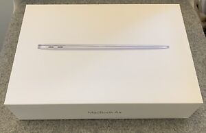 """GENUINE APPLE MACBOOK AIR 13.3"""" SILVER - *EMPTY BOX ONLY WITH INSERTS* 2020"""