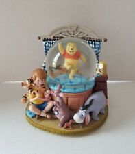 Rare Disney Winnie The Pooh & Friends Musical Snowglobe - Great Condition