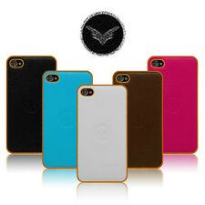 Leather Back Case Stylish Branded UNIICO Genuine Cover For iPhone & Samsung