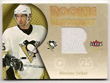 Maxime Talbot 05-06 Fleer Ultra Rookie Uniformity Game Jersey Patch /35
