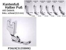 Kantenfuß Halber Fuß, Sohle RECHTS !! P36 LN  mit SCHMALER Sohle: 5 mm !!  #sp