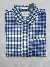NWT Abercrombie & Fitch Classic Plaid Button Down Shirt Mens Muscle Fit S&M&L