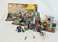 Lego Indiana Jones Set Chauchilla Cemetery Battle 7196 5 Minifigs Crystal Skull