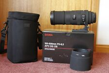 Sigma 150-500mm f/5.0-6.3 DG HSM APO OS AF Lens for Canon